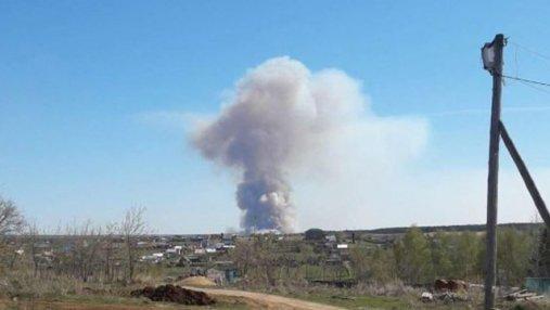 В России взрываются военные склады: фото и видео