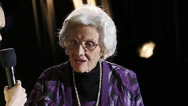 В возрасте 105 лет скончалась самая пожилая актриса Голливуда