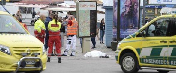 В Финляндии мужчина с ножом напал на прохожих Есть погибший и раненые; обновлено 18:23