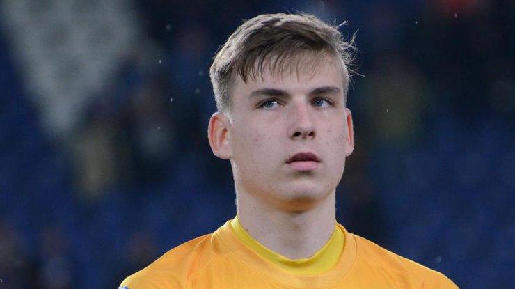 Украинский футболист перешел в Реал
