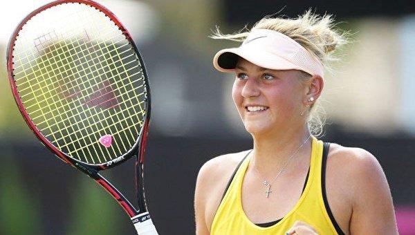 Украинка Костюк вышла в полуфинал теннисного турнира в Китае