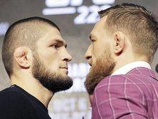 Бой Нурмагомедова (слева) и Макгрегора (справа) прошел 6 октября