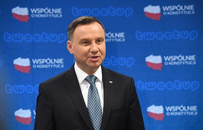 Анджей Дуда сказав, що нову конституцію Польщі можуть прийняти у 2021 році