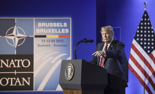 Трамп заявив, що він не дозволив би на анексію Криму Росією