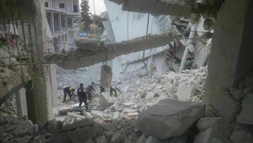 Вследствие налета российских бомбардировщиков погибли 37 детей и женщин