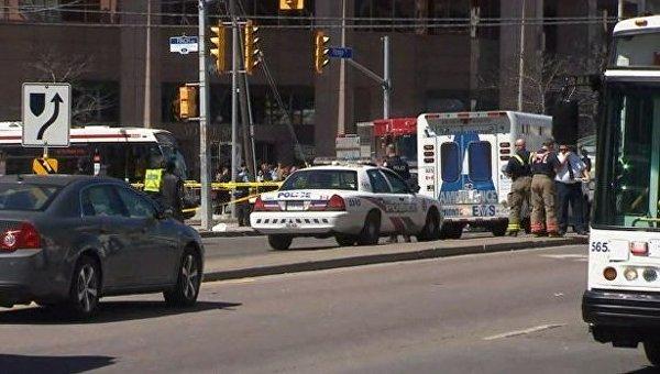 Установлена личность водителя, сбившего пешеходов в Торонто