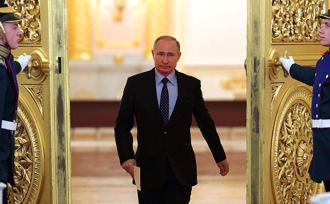 Путин о новом президентском сроке: Пока не решил