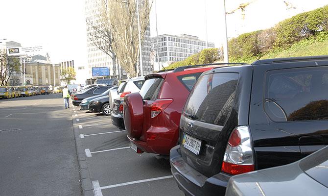 Кличко озвучил размер штрафов за неправильную парковку