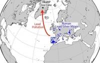 Вчені вияснили походження відкладень свинцю в льодах Гренландії
