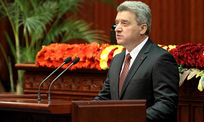 Президент Македонии призвал депутатов начать процедуру своего импичмента