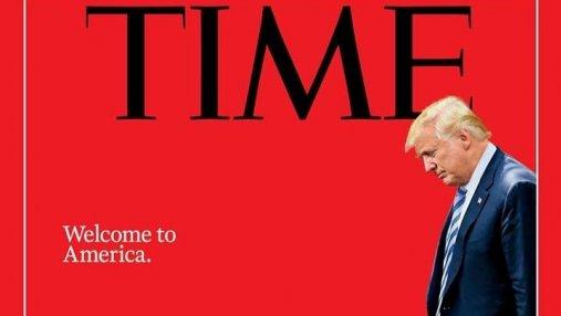Добро пожаловать в Америку: журнал TIME показал новую миграционную политику США точным коллаже