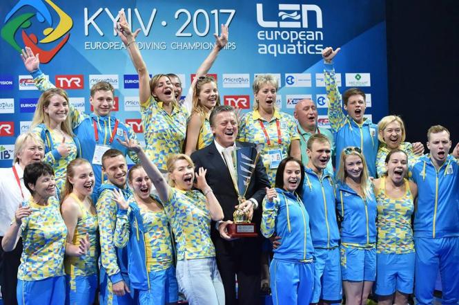 Сборная Украины стала чемпионом Европы по прыжкам в воду, - ФОТО