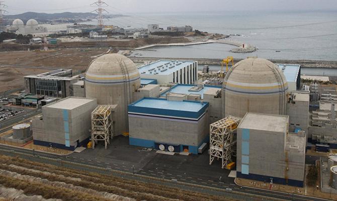 Южная Корея намерена возобновить строительство ядерных реакторов
