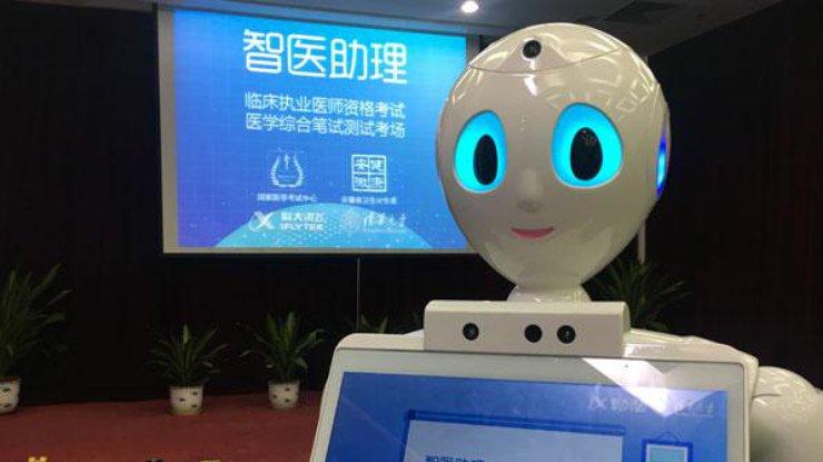 Робот впервые в мире сдал врачебный экзамен