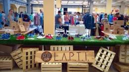 Украинский бренд обуви L.A.P.T.I. открыл первый магазин