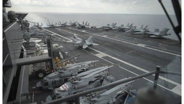 В Тихий океан рухнуло воздушное судно с американскими военными