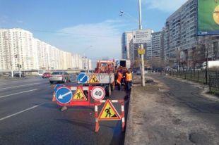 В Киеве с сегодняшнего дня ограничено движение по ул. Набережно-Рыбальской