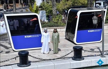 В Дубае провели тесты беспилотных пассажирских капсул (ФОТО, ВИДЕО)