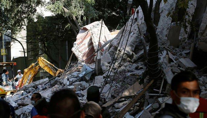 Крушение вертолета с министром в Мексике: Количество погибших увеличилось до 13