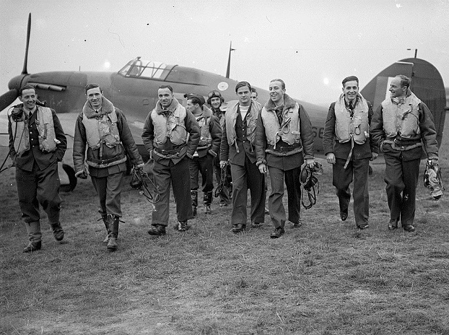 Museums pays tribute to Polish Battle of Britain pilots
