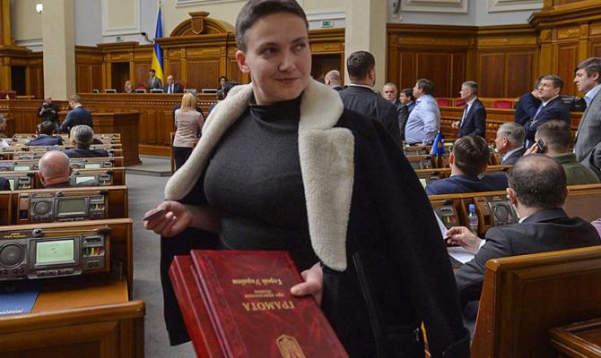 Савченко готовы взять на поруки свыше 50-ти человек