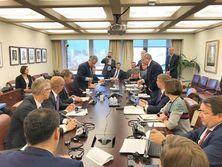 Украинская делегация встретилась с первым заместителем директора-распорядителя МВФ Дэвидом Липтоном