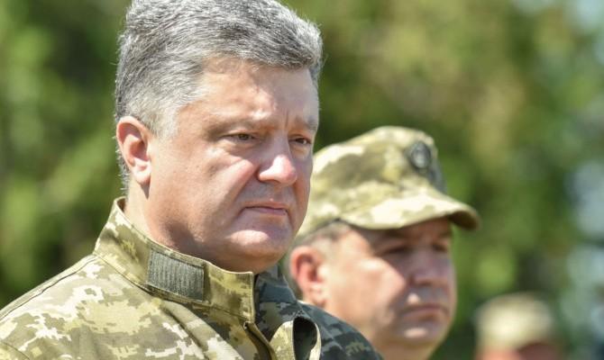 Порошенко ввел в действие решение СНБО о проведении испытаний вооружения и техники