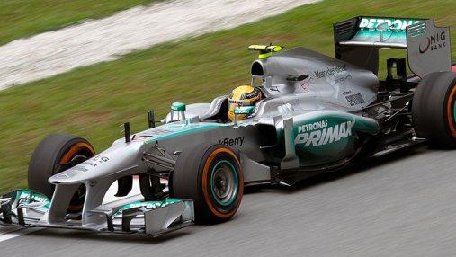 На гран-при США команда Mercedes завоевала кубок конструкторов