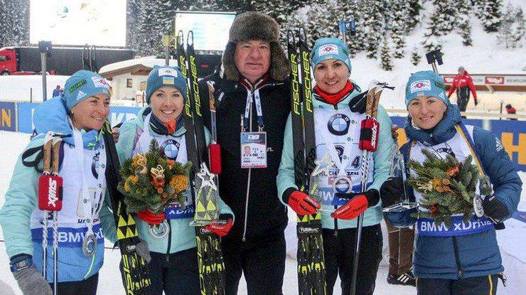 Сборная Украины по биатлону бойкотирует этап Кубка мира в России
