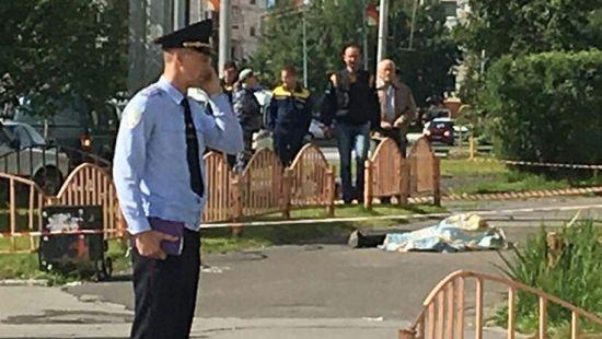 В России неизвестный устроил кровавую резню прохожих (видео)