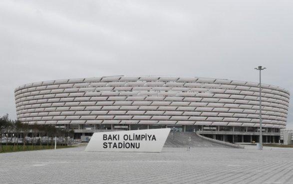 Олимпийский стадион закроют для автоводителей В день матча «Карабах» - «Рома»