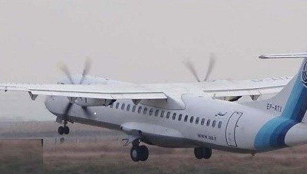 Спасатели нашли разбившийся в Иране самолет