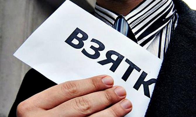 В Киеве на взятке задержан сотрудник столичного главка СБУ