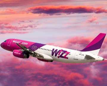 WizzAir raises traffic on Ukrainian flights by almost 65 процентов in 2017