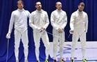 Украинские шпажисты завоевали серебро чемпионата Европы
