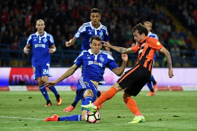 Динамо и Шахтер сыграют в финале Кубка Украины