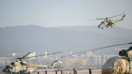 В России сообщили об атаке беспилотников, совершенной по их авиабазе в Сирии