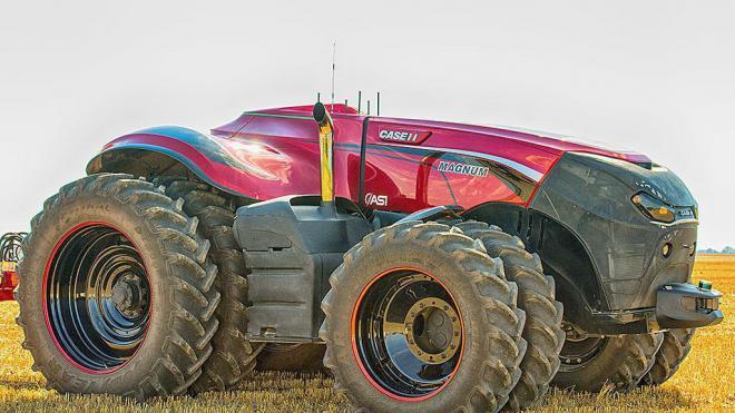 В США создали трактор без кабины