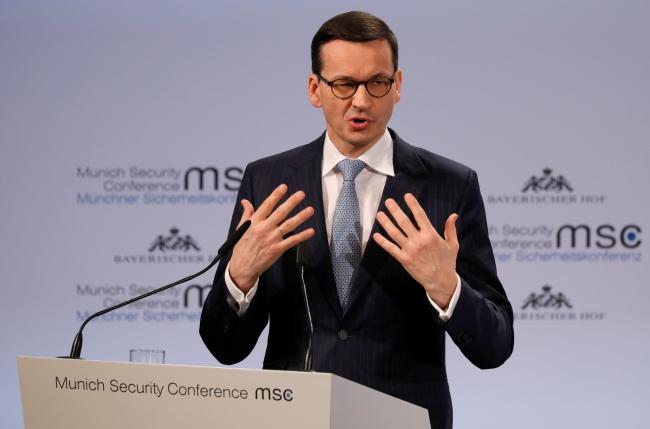Матеуш Моравєцький взяв участь у Мюнхенській конференції з питань безпеки