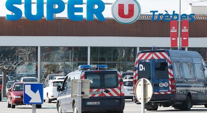 Полицейские застрелили нападавшего в супермаркете в Треб
