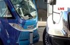 В США автобус-беспилотник попал в ДТП через час после выхода на маршрут
