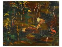 На аукционе за 474 тысячи долларов продана последняя картина, написанная Уинстоном Черчиллем (фото)