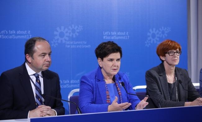 Беата Шидло рассказала о социальной политике Польши на саммите ЕС