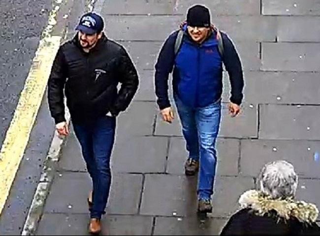 Петров и Боширов обвинены во лжи