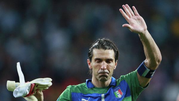 Голкипер-рекордсмен Буффон объявил о завершении карьеры в сборной Италии
