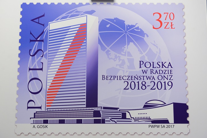 Polish Post commemorates UN Security Council membership