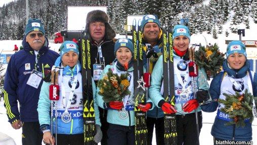Женская сборная Украины по биатлону в сильнейшем составе едет на третий этап Кубка мира