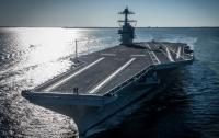 США откладывают взрывные испытания нового авианосца