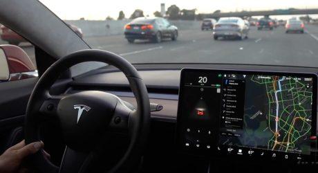 C Tesla можно будет пообщаться: в Model 3 появится голосовое управление