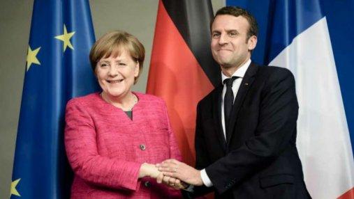 Меркель и Макрон решили изменить Евросоюз